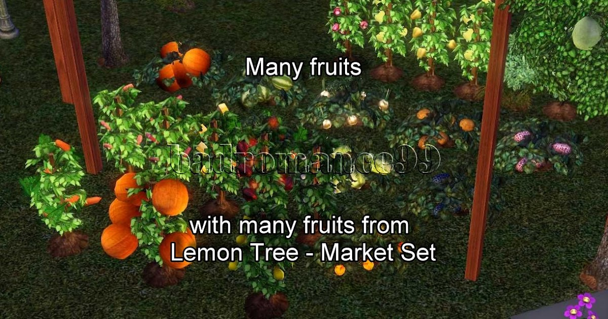 My sims 3 blog much more harvest and plants live very for Plants that live long