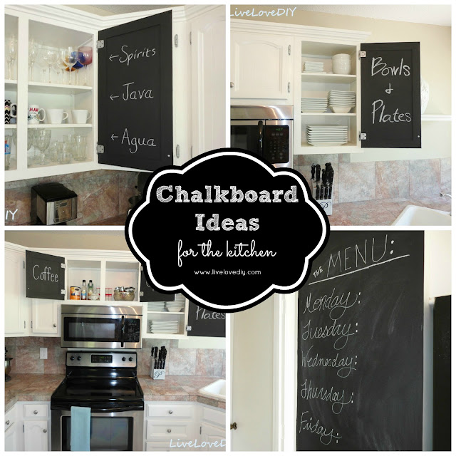 Easy DIY Chalkboard Ideas For Your Kitchen