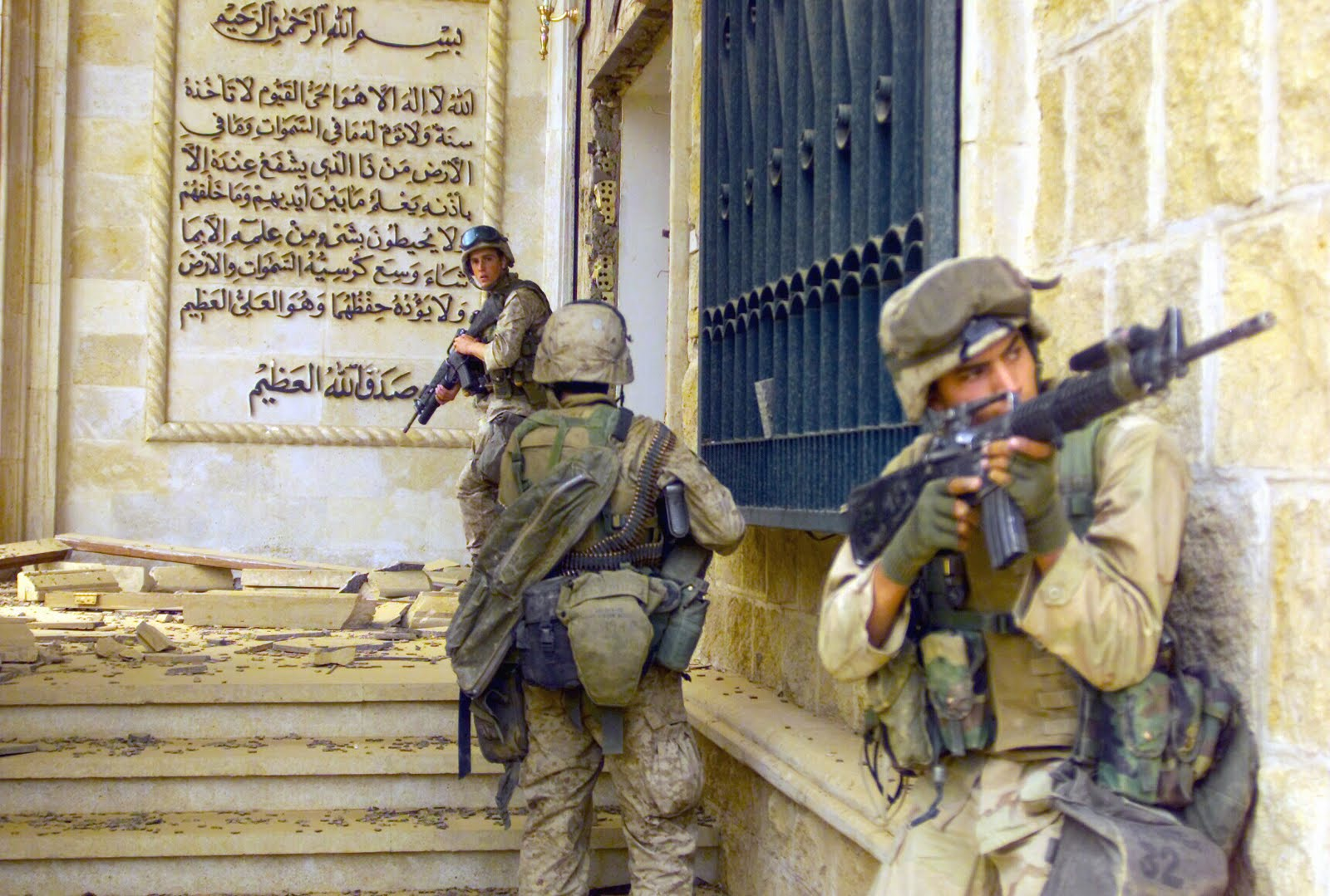 the new jacksonian blog jacksonian nationalism and american jacksonian heroes bring down a tyrant u s marines from the 1st battalion 7th marines charlie company enter one of saddam hussein s palaces in baghdad