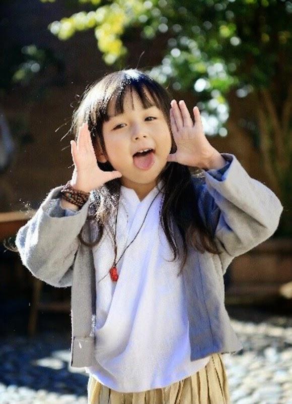 Foto Liu Chu Tian balita yang dinobatkan tercantik di dunia