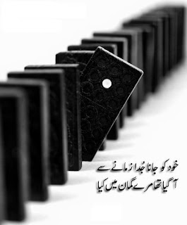 2 Lines Urdu Poetry about yourself