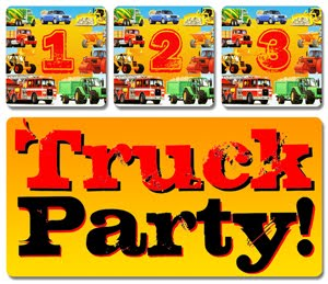 Kid's Truck Theme Birthday Parties!