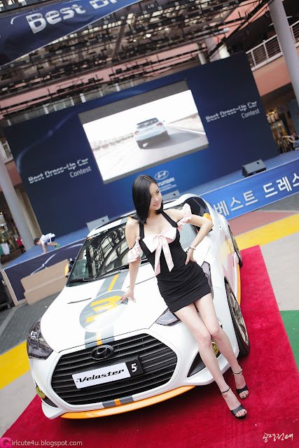 5 Min Soo Ah at Hyundai Best Dress-up Car Contest 2012-very cute asian girl-girlcute4u.blogspot.com