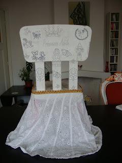 chaise princesse