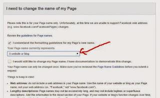 Tentukan representasi nama FP kita (blog atau apa, terserah)