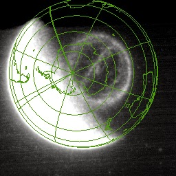 A theta aurora – so named because it looks like a Greek letter theta, a circle with a line through the middle -- as seen by NASA's IMAGE satellite on Sep. 15, 2005. New research helps explains what causes these unique events. Image Credit: NASA/R. Fear et al (2014)