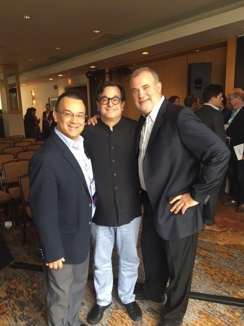 Con mis amigos Steve Hirschfeld  CEO y Peter Walts COO de Employment Law Alliance ELA