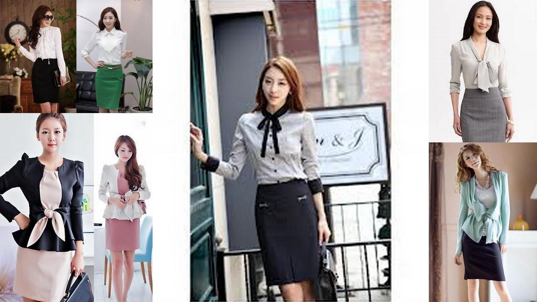 Model baju kerja wanita rok dan blazer