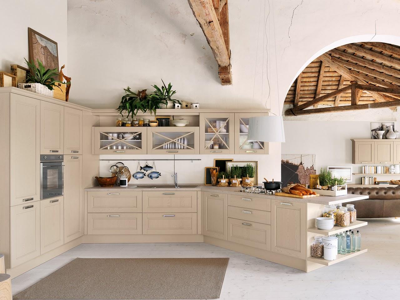 Cucina Lube Verde Mela : Cucina ad angolo ikea. Cucina a vista e ...