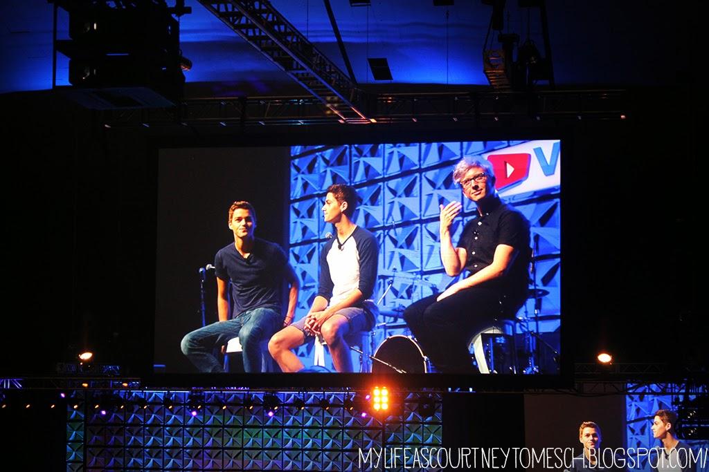 VidCon 2013 Tyler Oakley Jacksgap