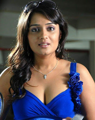 Actress Nikitha Hot & spicy Cleavage Photos Gallery