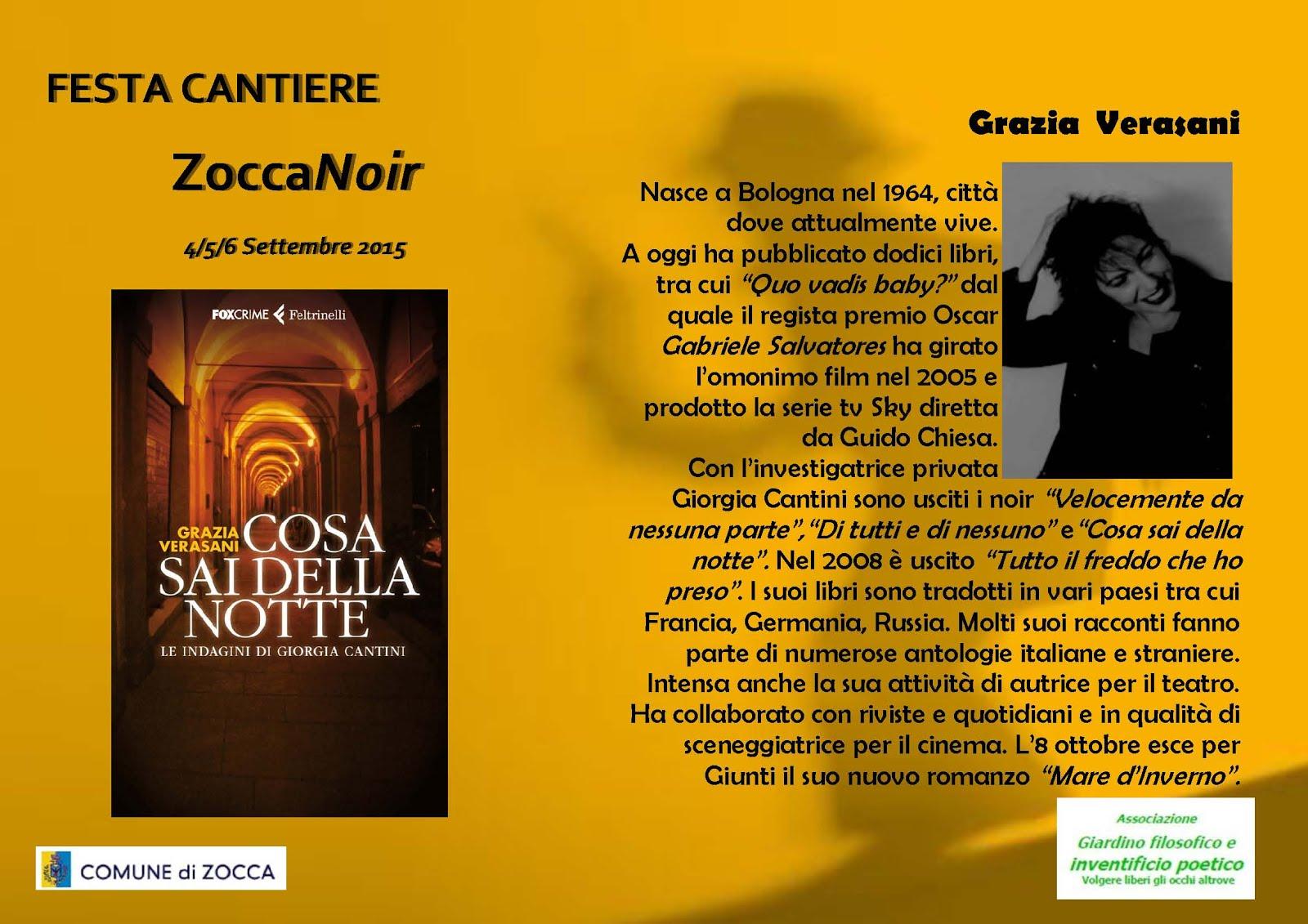 Biografia Grazia Verasani