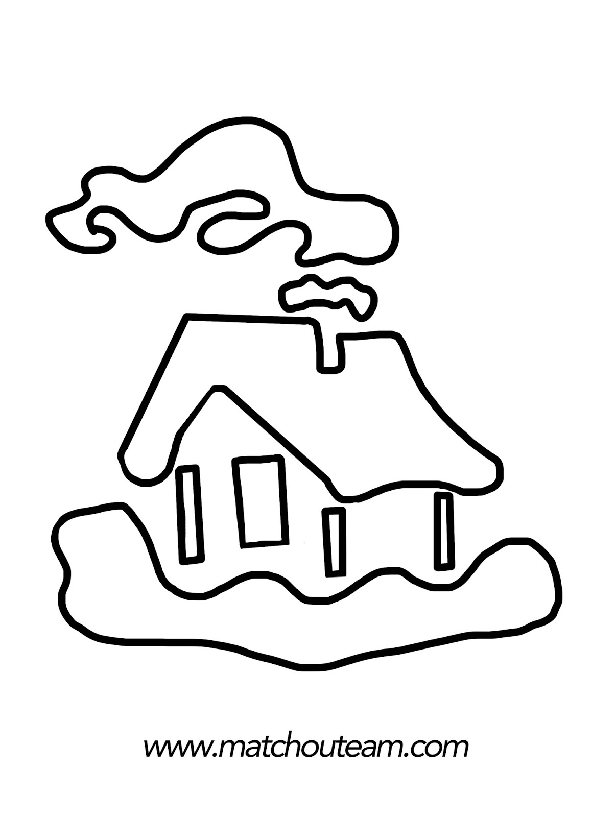 pochoir maison