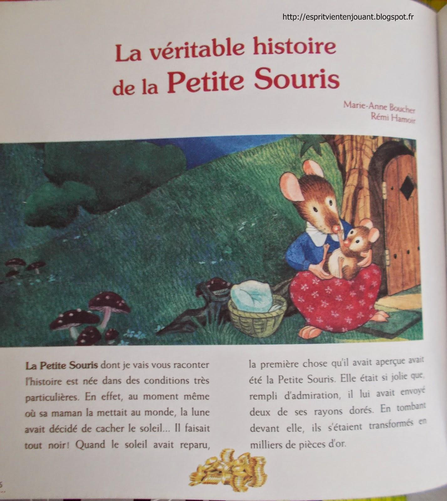 L 39 esprit vient en jouant la v ritable histoire de la petite souris livre - L histoire de la souris ...