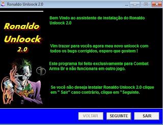[Funcional][C.A] Ronaldo Unloock 2.0