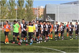 El primer encuentro oficial de Unionistas de Salamanca se disputó en Carbajosa