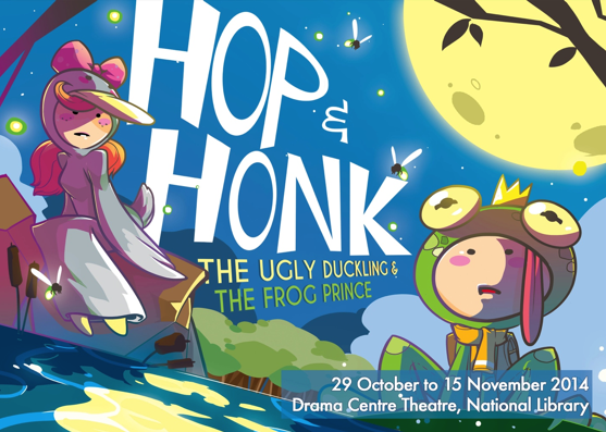 Hop & Honk - The Ugly Ducking and The Frog Prince