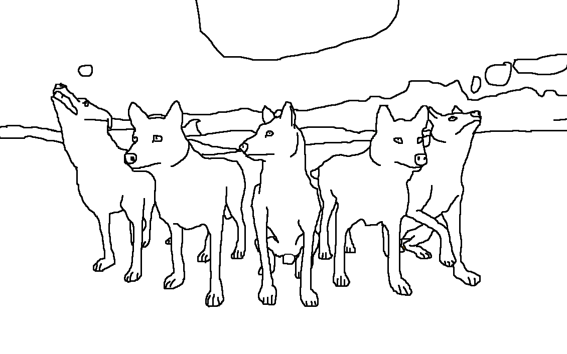 Elegant Wolfquest The Pack By Fire With Wolf Pack Coloring Wolf Pack Coloring Pages