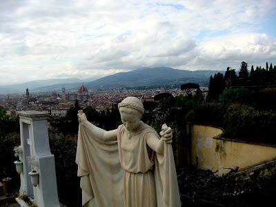 Firenze vista dall'alto - San Miniato al Monte