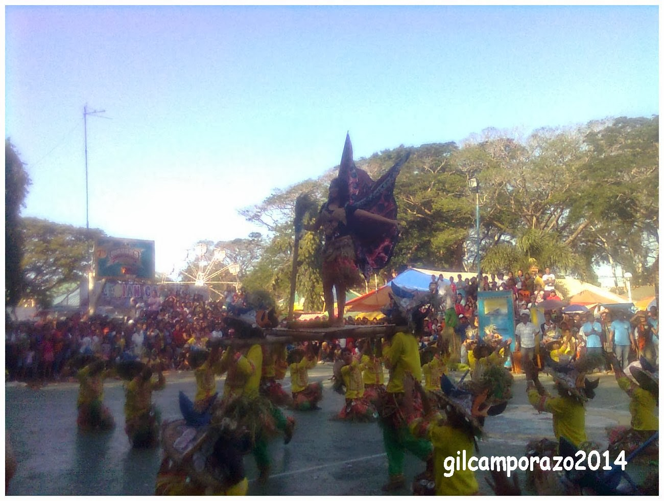 Dolid dancers at Pasundayag 2014