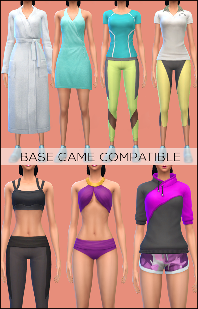 Sims  Spa Day Recolor