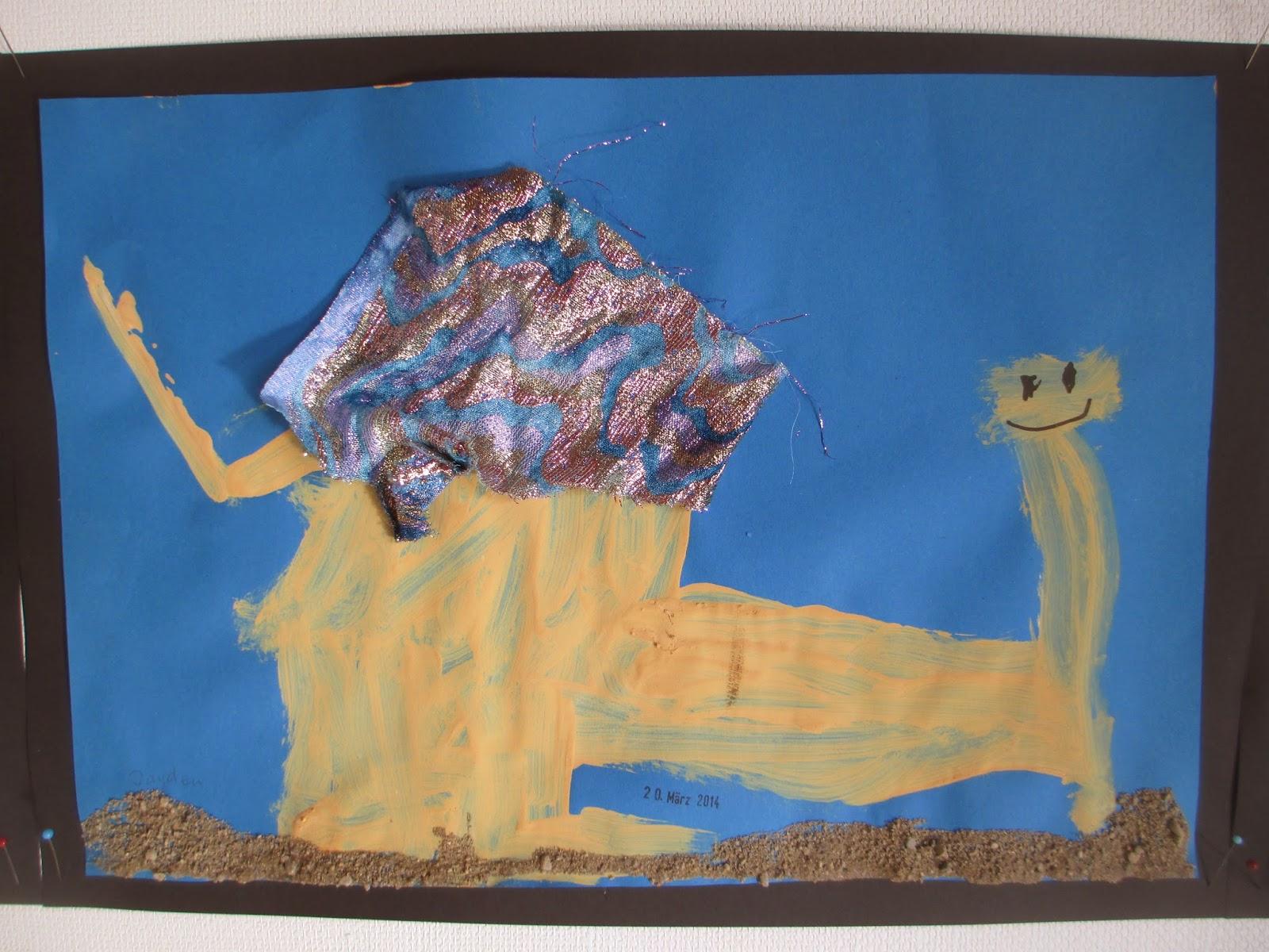 Kinderzeichnung Dromedar