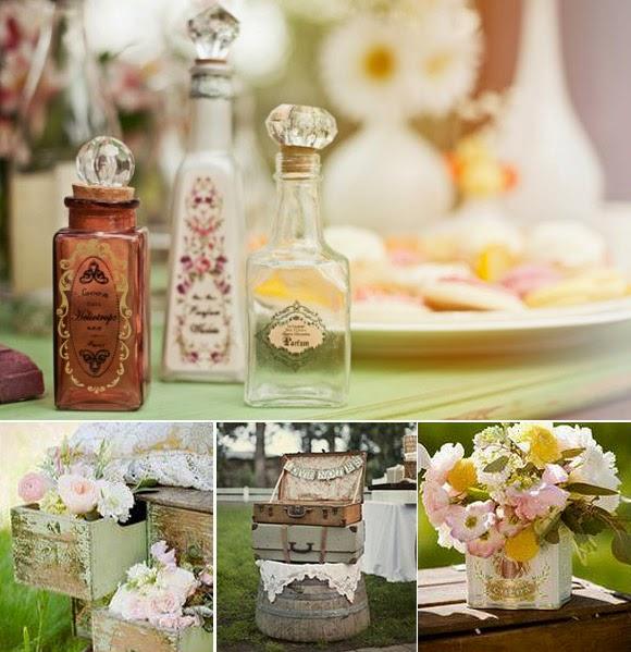 Bodas online tendencias para las bodas del 2015 - Detalles vintage decoracion ...