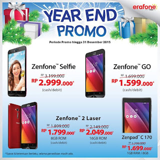 ASUS Year End Promo di Erafone