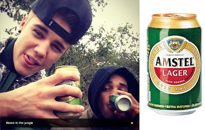 Justin Bieber Beer South Africa