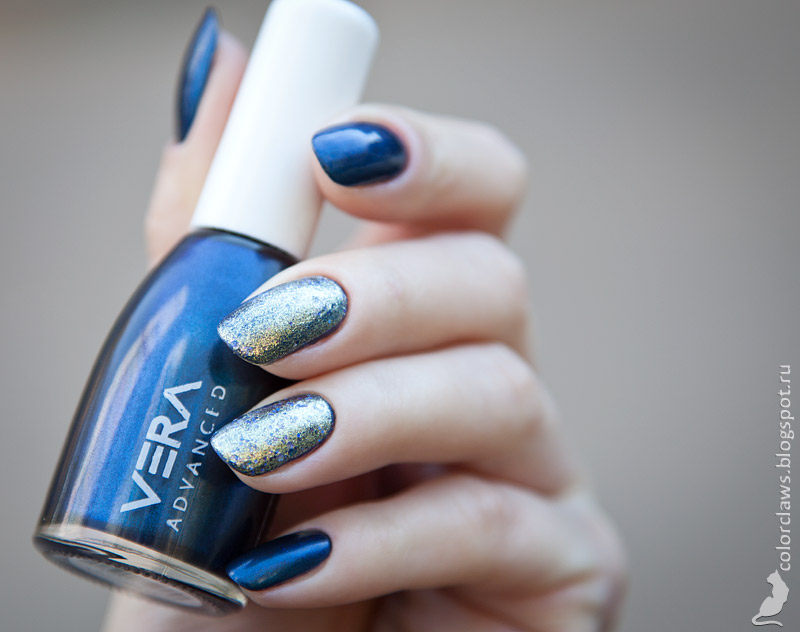 Vera Advanced #004 + Essie On a Silver Platter