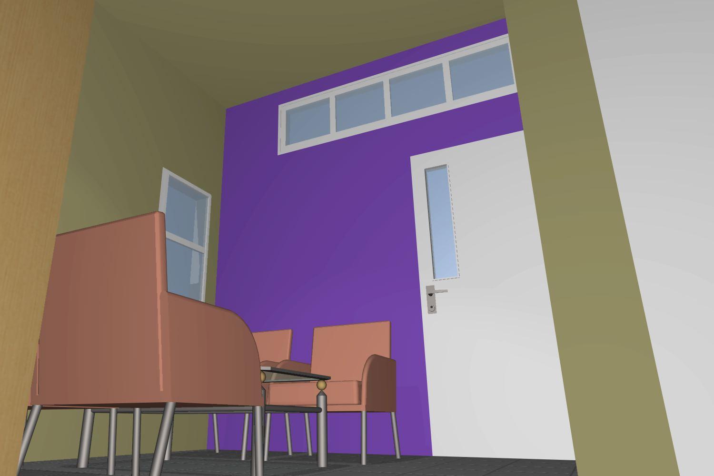 contoh rumah minimalis detail furniture dirumah tipe 45
