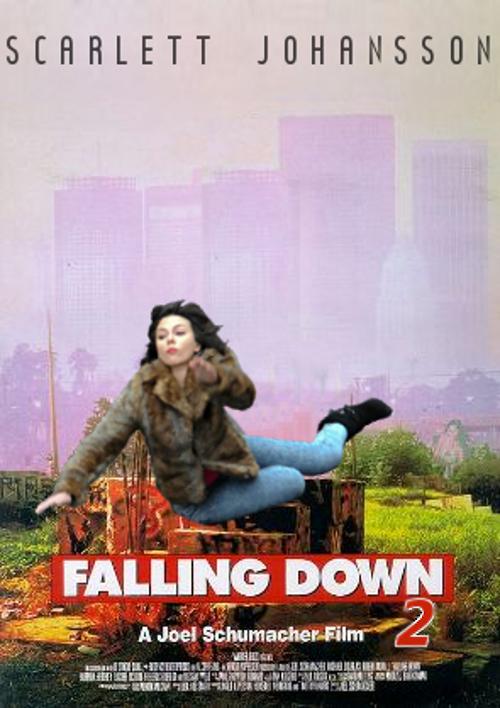 Scarlett Johansson Falling Down 6