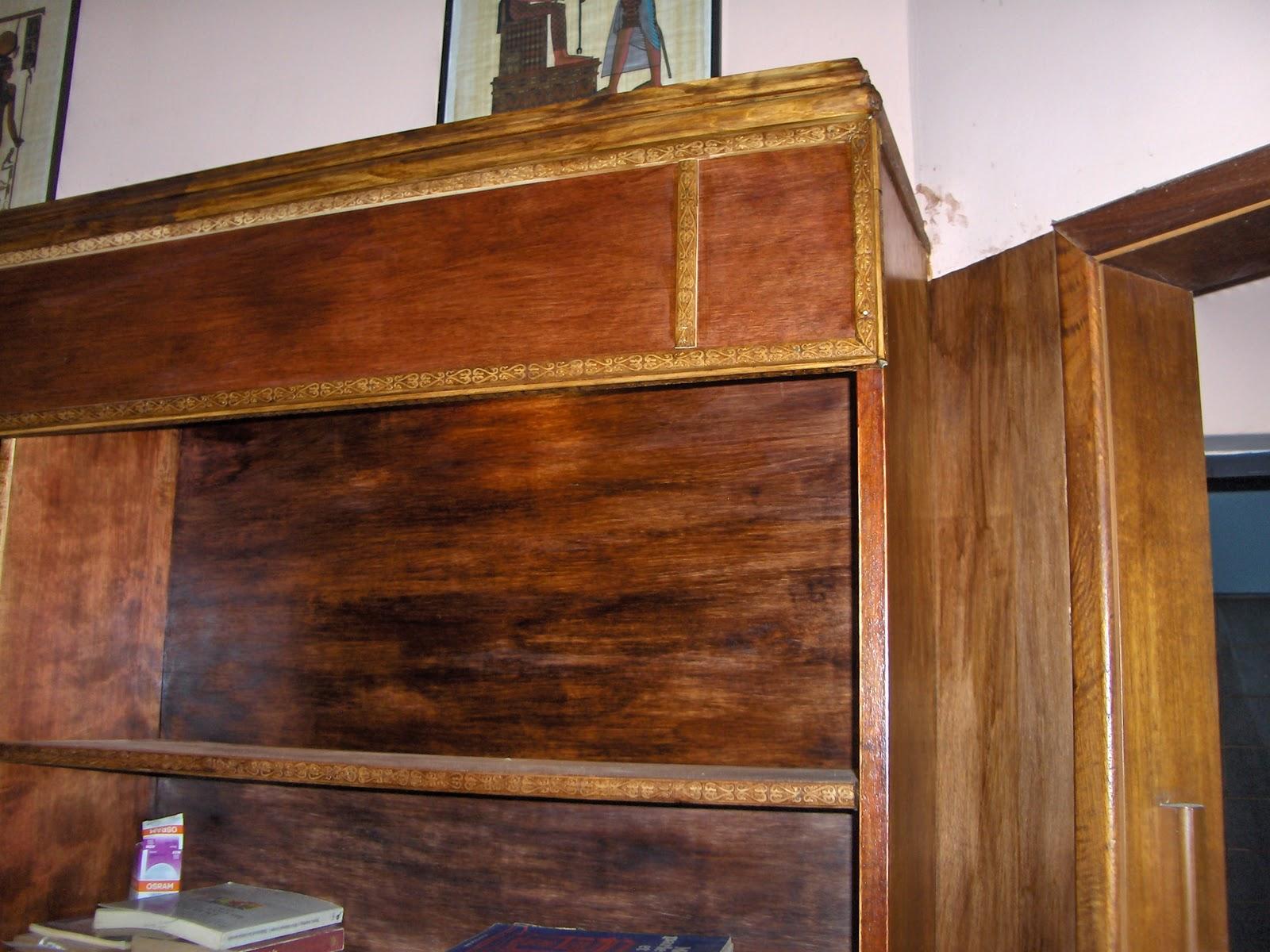 Cartago deco biblioteca maderas marup y cedro con instalaci n de luces led tama o x 3m - Libreria de luces ...