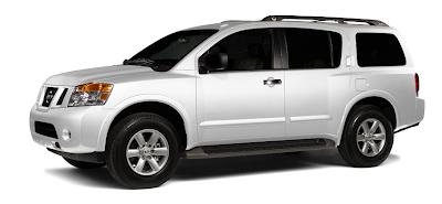 2013 Nissan Armada white