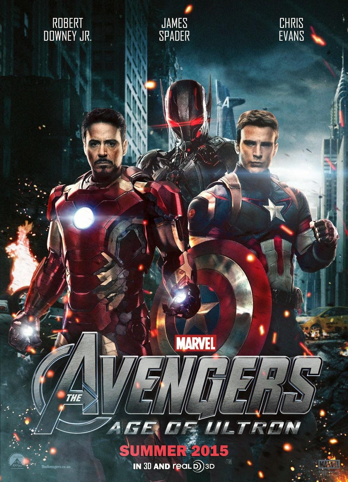 Vengadores: La era de Ultrón [2015] [Cam] [latino]