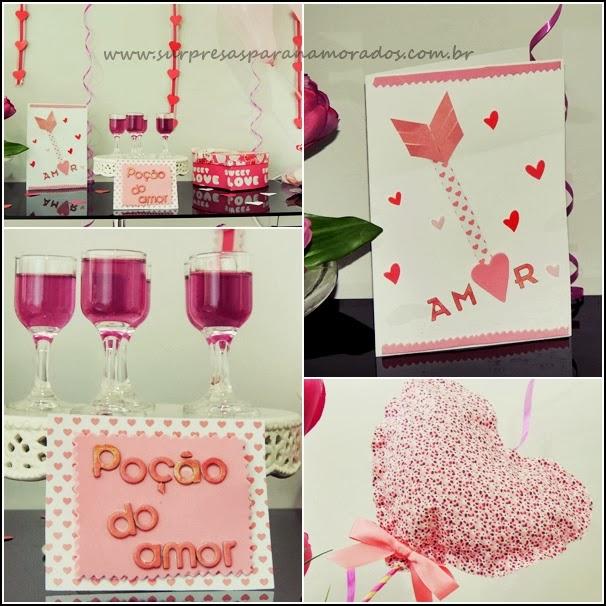 decoração valentine's day