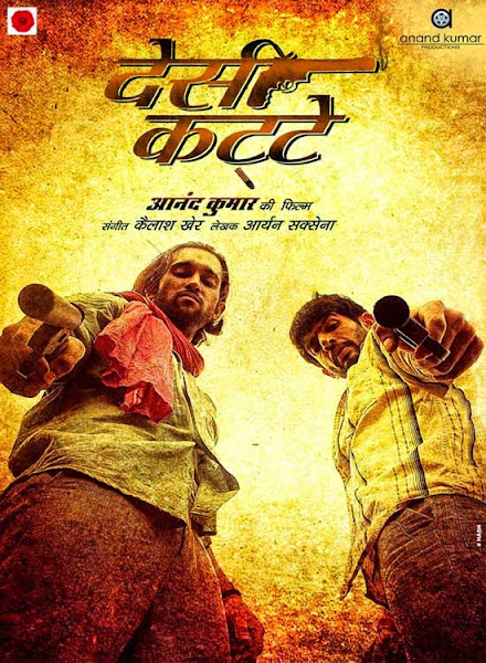 Poster Of Desi Kattey 2014 720p Hindi HDRip Full Movie