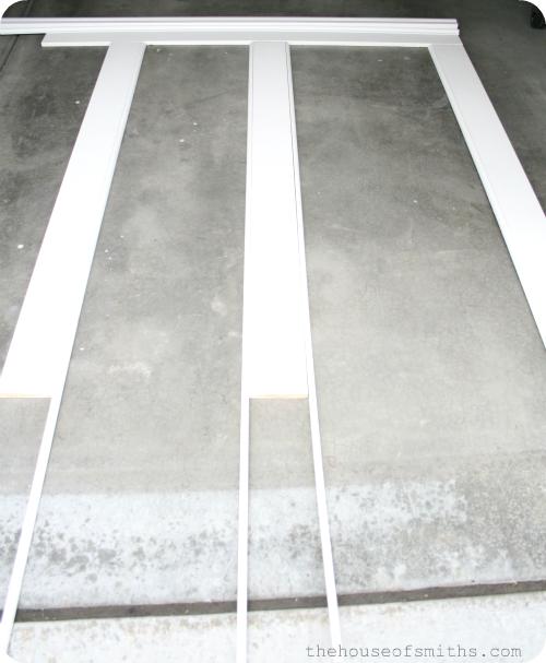 Layered Molding Board & Batten Tutorial - Master Bathroom
