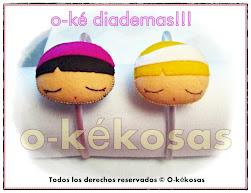 O-ké Diademas!!!