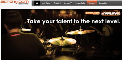 Terkini! Portal radio muzik baru : 2crank.com.my
