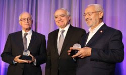 New York: Beji Caied Essebsi et Rached Ghannouchi