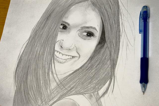 Quick drawing: Elana Gilbert / Nina Dobrev