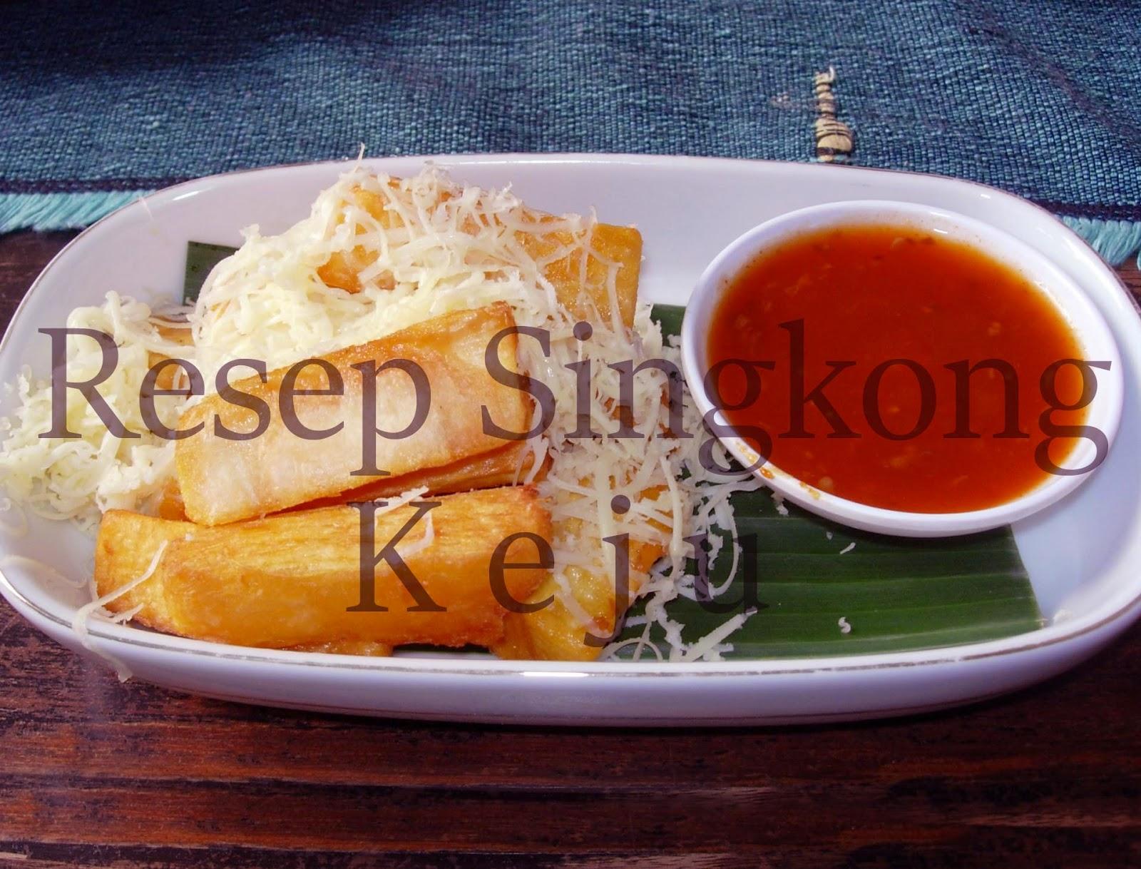 Resep Singkong Keju Goreng, Resep Kue dari Singkong