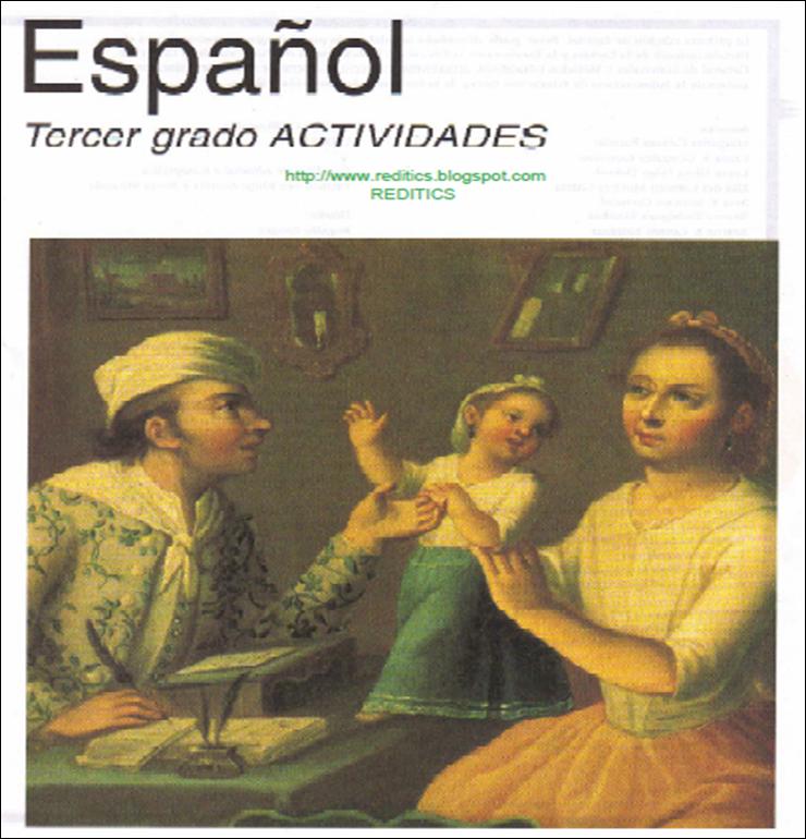 Libro de texto SEP: Tercer Grado Español Actividades 1999
