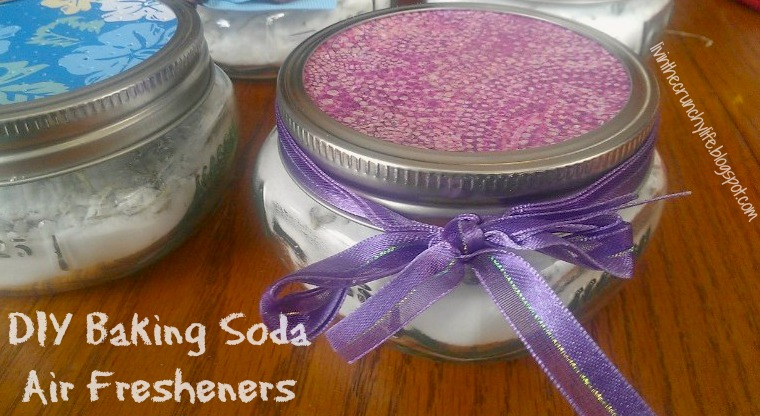 diy baking soda air freshening scent jars livin 39 the