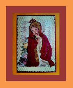 """""""Virgen de la Fe"""" (en rojo manto) ®"""