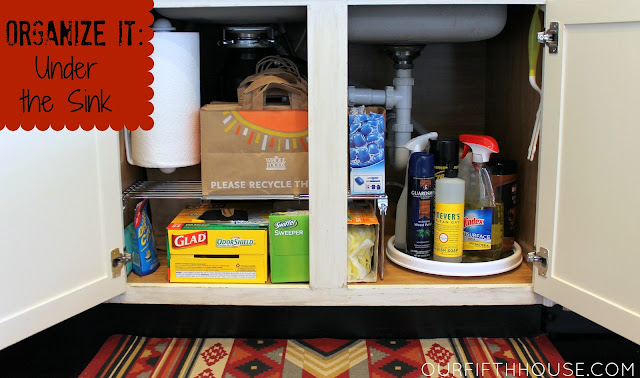 under the sink organization