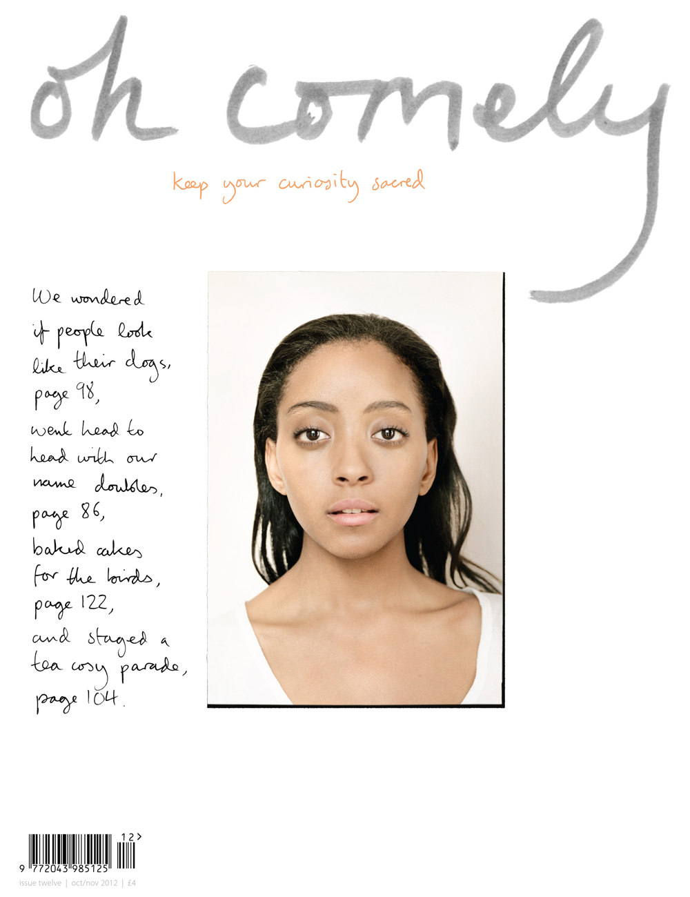 Oh Comely magazine, Issue 12, from Shipshape Studio