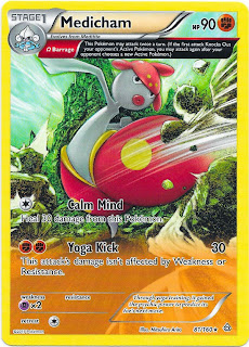 Medicham Primal Clash Pokemon Card