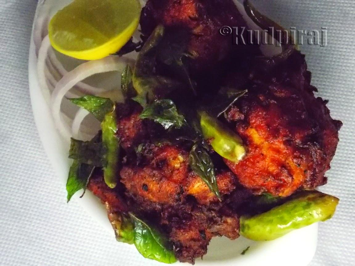 how to make chicken kebab on tawa